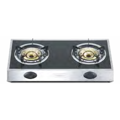 Picture of FABER DOUBLE BURNER GAS COOKER, FC-8822GQ
