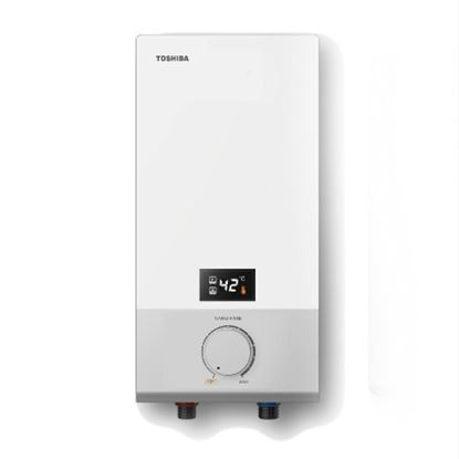 Picture of TOSHIBA WATER HEATER W/O PUMP WHITE COLOUR, DSK38ES5MW