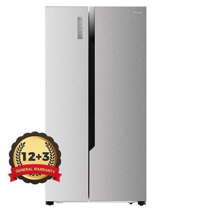 Picture of HISENSE 620L SIDE-BY-SIDE REFRIGERATOR TOUCH CONTROL, RS670N4ACU