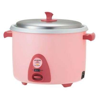 Picture of KHIND 1.8L RICE COOKER WITH STEAMER, RC-918