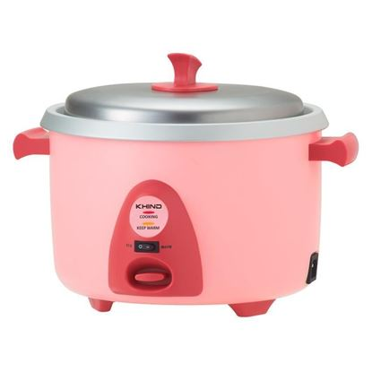 Picture of KHIND 1.0L RICE COOKER WITH STEAMER, RC-910